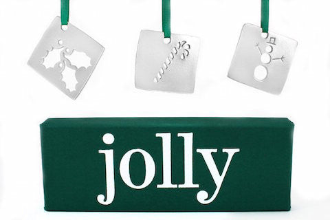 Vilmain Pewter - Jolly Ornaments