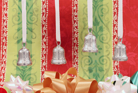 Vilmain Pewter - Bells Ornament Set