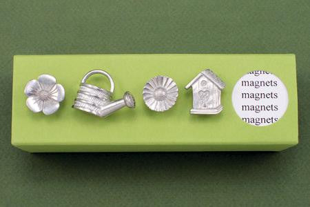 Vilmain Pewter - Garden Magnets