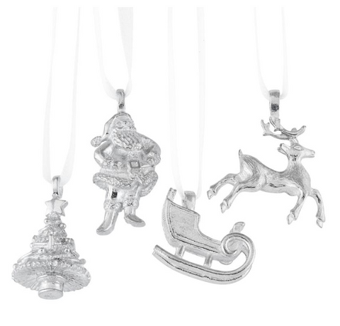Vilmain Pewter - Saint Nick Ornament Set