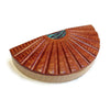 Watson Woodworks - Bloodwood and Maple Scallop Box