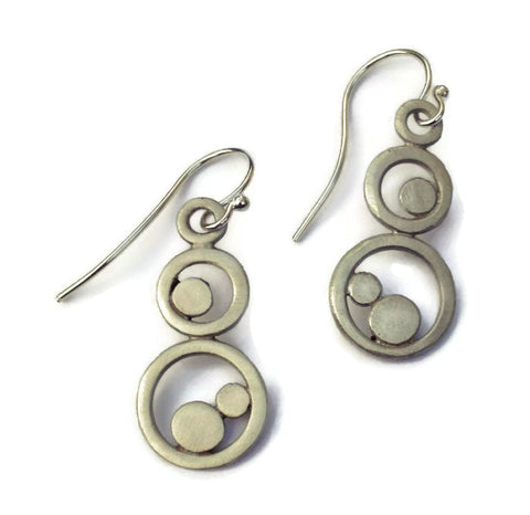 Julia Britell Jewelry - Circles Earrings