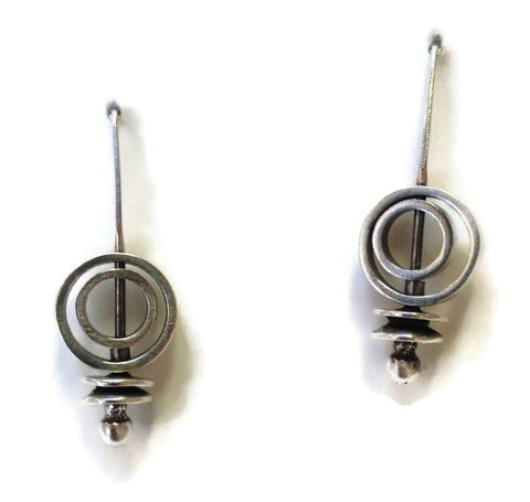 Kenneth Pillsworth Jewelry - Spinner Earrings
