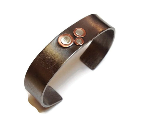Kenneth Pillsworth Jewelry - Titanium Cuff