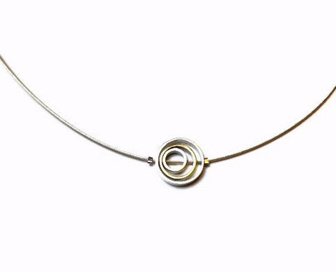 Kenneth Pillsworth Jewelry - Triple Spinners Pendant