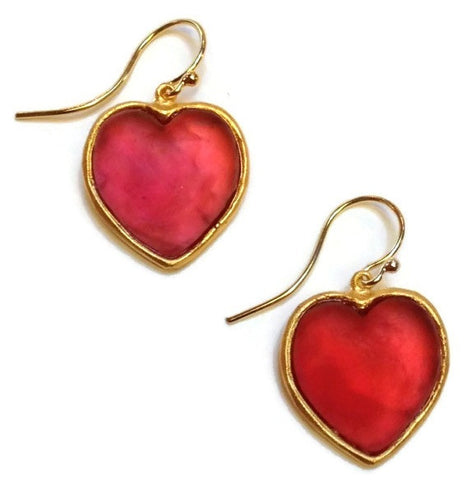 Michael Vincent Michaud Jewelry - Heart Earrings