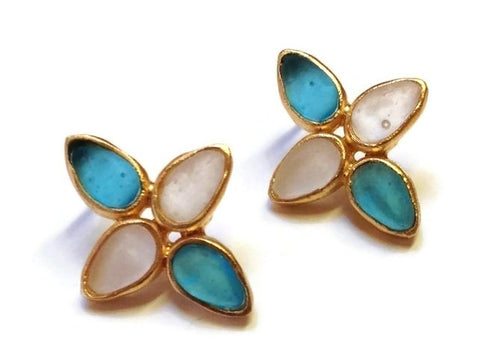 Michael Vincent Michaud Jewelry - Star Post Earrings