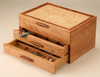 Mike Fisher - Heartwood Creations - Cascade I Collection 2 Drawer Jewelry Box