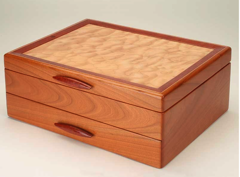 Mike Fisher - Heartwood Creations - Cascade I - 1 Drawer Jewelry Box