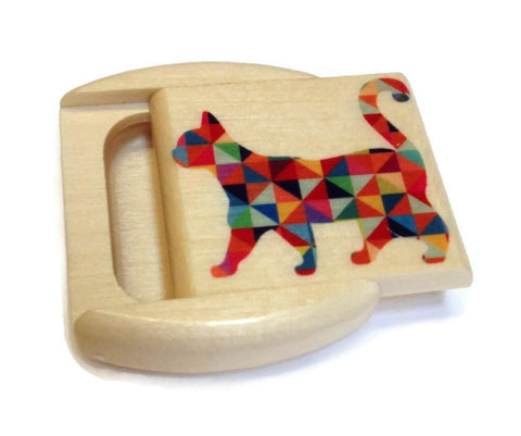 Mike Fisher - Heartwood Creations - Colorful Cat Secret Box