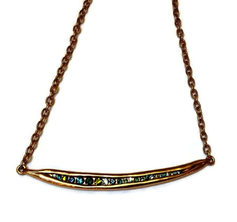 Patricia Locke Jewelry - Trapeze Necklace in Envy