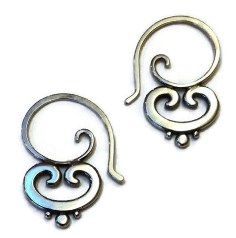 Sasha Bell Jewelry - Ornate Swirl Earrings