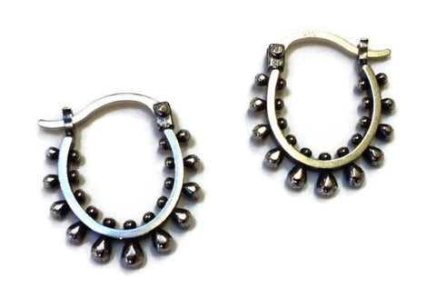 Sasha Bell Jewelry - Medium Ultra Hoop Earrings