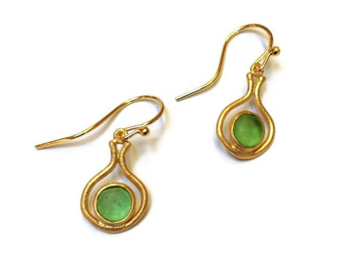 Michael Vincent Michaud Jewelry- Small Wire Drop Earrings