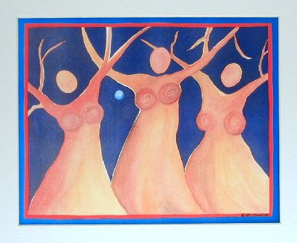 Womantrees Dancing #3
