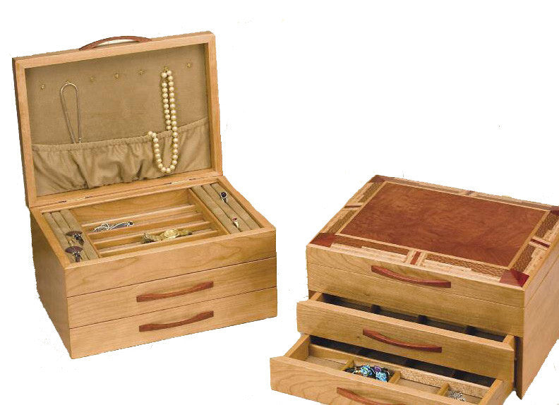 Mike Fisher Heartwood Creations Mission Style Jewelry Box