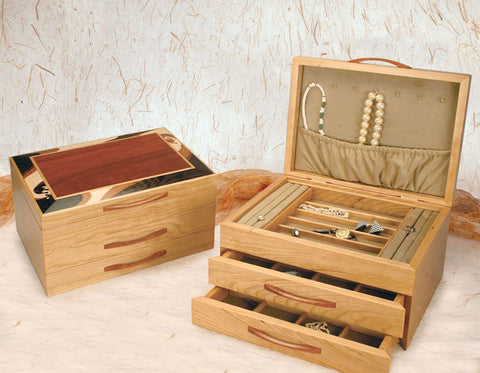 Mike Fisher - Heartwood Creations - Wave Style Jewelry Box
