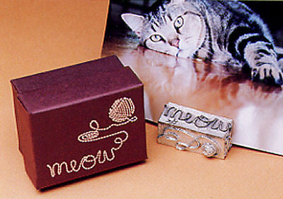 Vilmain Pewter - Meow Photo Stand