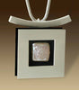 Mar Jewelry - Brushed Sterling Silver Square Pendant