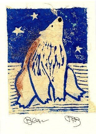 Salmonberry Studio - Bear Note Card