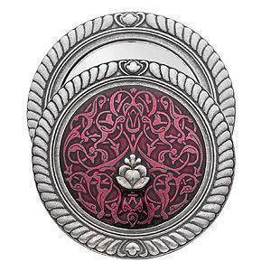 Danforth Pewter - Tapestry Purse Mirrors