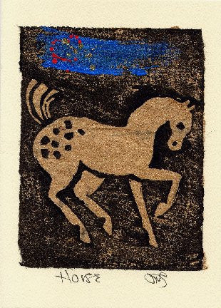 Salmonberry Studio - Horse Note Card