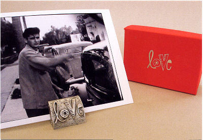 Vilmain Pewter - Love Photo Stand