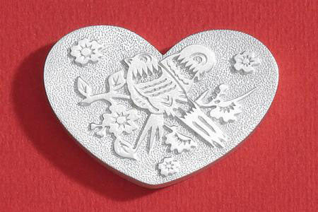 Vilmain Pewter - Love Birds Love Token