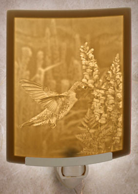 The Porcelain Garden - Sweet Nectar - Lithophane Night Light