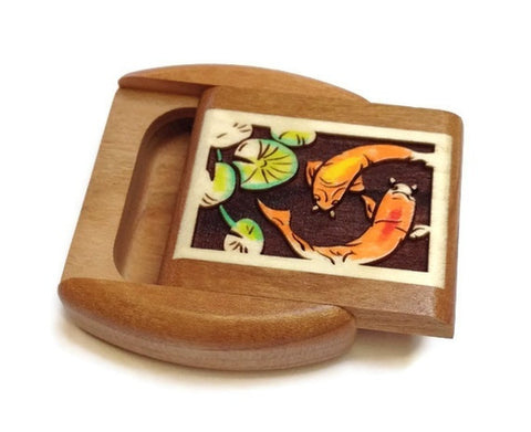 Mike Fisher - Heartwood Creations - Koi Fish Prismatone Secret Box
