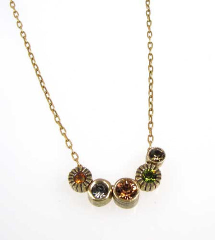 Patricia Locke Jewelry - Pennies From Heaven Necklace in Thicket
