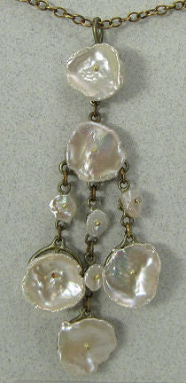 Silver Seasons - Michael Michaud - Silver Dollar Shower Pendant
