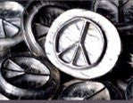 Vilmain Pewter - Pocket Peace Sign