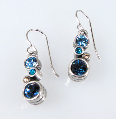 Patricia Locke Jewelry -  Cassie Earrings in Ciel Blue