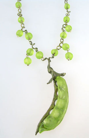 Silver Seasons - Michael Michaud - Sweet Pea Necklace