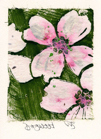 Salmonberry Studio - Dogwood Note Cards