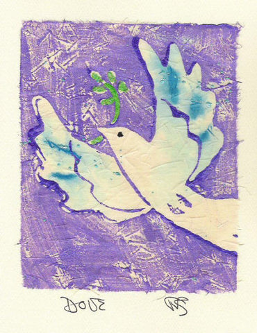 Salmonberry Studio - Dove Note Card