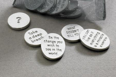 Vilmain Pewter - Bag of Quotes