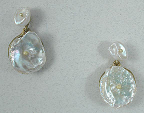 Silver Seasons - Michael Michaud - Silver Dollar Drop Earrings