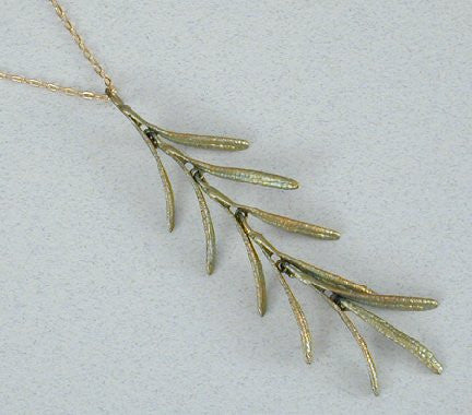 Silver Seasons - Michael Michaud - Rosemary Necklace