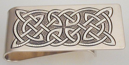 Rick Deeks - Celtic Silver Money Clip