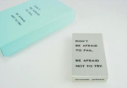 Vilmain Pewter - Don't Be Afraid Paperweight