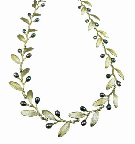 Silver Seasons - Michael Michaud - Olive Necklace