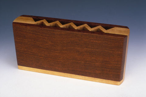 Howard Griffiths - Bubinga & Cherry Pencil Holder