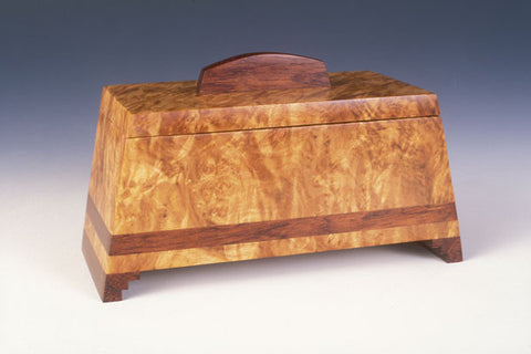 Howard Griffiths - Maple Burl & Bubinga Keeper Box