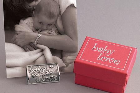 Vilmain Pewter - Baby Love Photo Stand