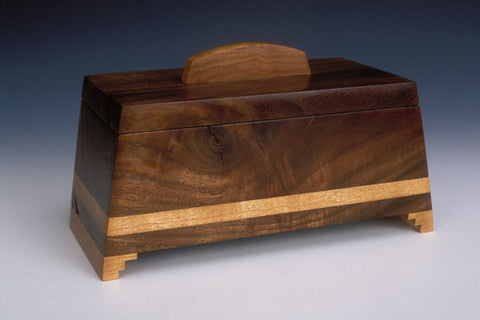 Howard Griffiths - Walnut & Figured Maple Keeper Box