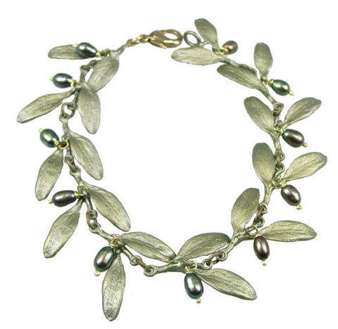Silver Seasons - Michael Michaud - Olive Bracelet