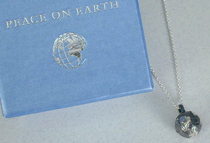Vilmain Pewter - Earth Necklace in Sterling Silver