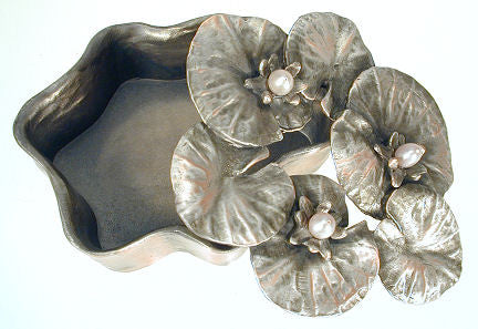 Michael Michaud - Table Art - Waterlilly Box